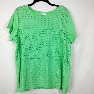 Green Hannah xl pullover top